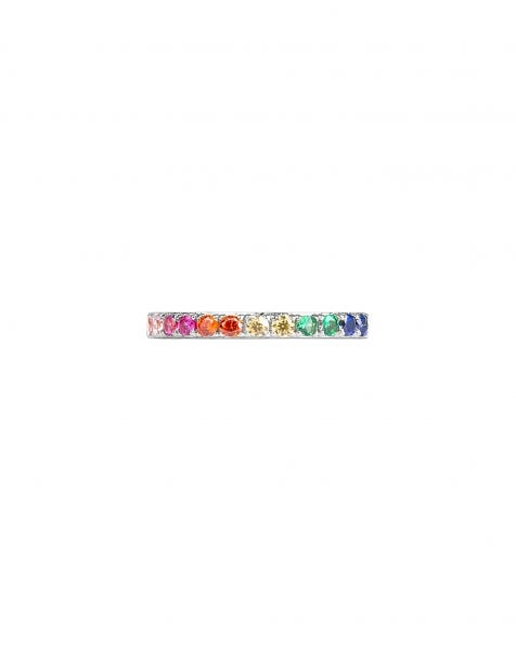 TRUE COLORS RING SILVER