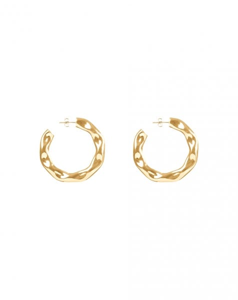 MAKE ME LOVE U EARRINGS GOLD